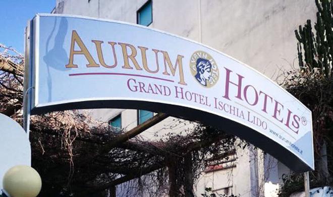 insegna aurum hotels particolare